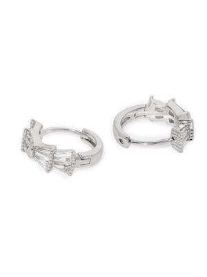 Gold Eleanor Cz Stone-Studded Earrings