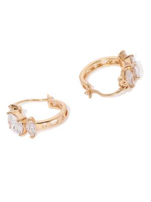 Gold Arya Cz Stone-Studded Earrings