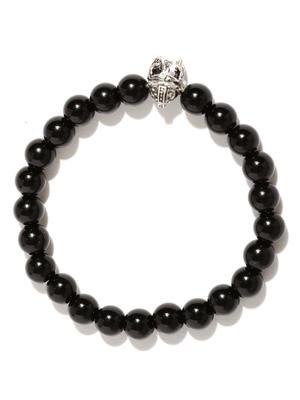 Fox Charm Onyx Stone Bracelet