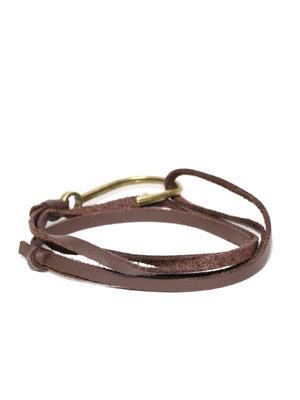 Brown Hook Bracelet