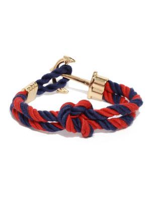 Multicolor Anchor Bracelet