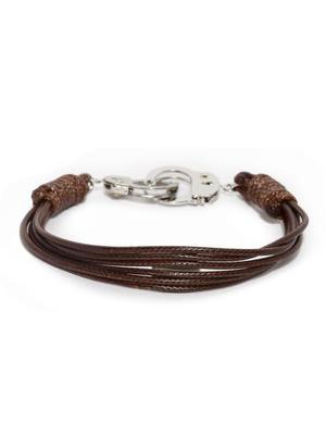 Brown Multistranded Bracelet