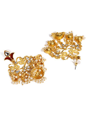 Gold-Tone Classic Drop Earring For Women