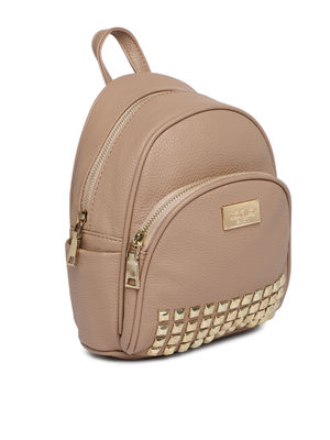 Ecru Stud On Backpack