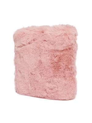 Light Pink Furry Sling Bag