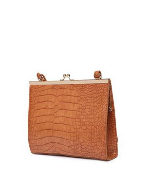 Fire Brick Solid Sling Bag