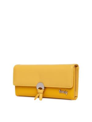 Mustard Knot Me Wallet