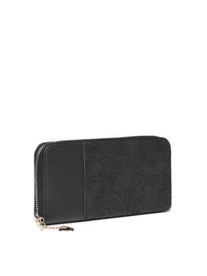 Black Filigree Beauty Wallet
