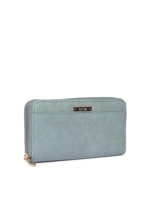 Denim Textured Everyday Basic Wallet