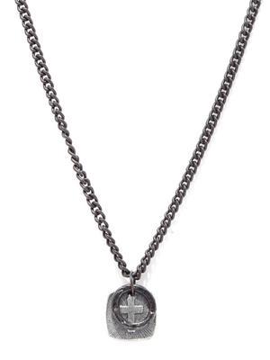Men Black Necklace