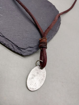 Brown Metal Necklace