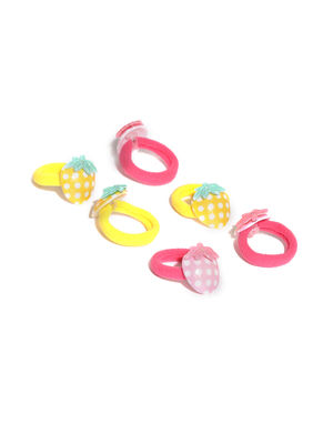 Set Of 6 Rubber Bands For Girls