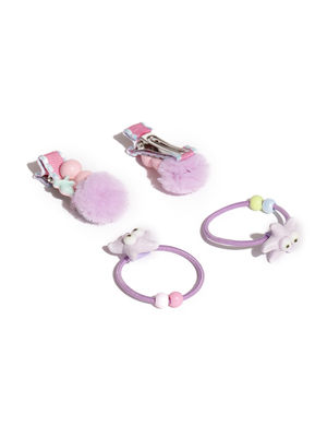Set Of 4 Hair Accessories For Girls