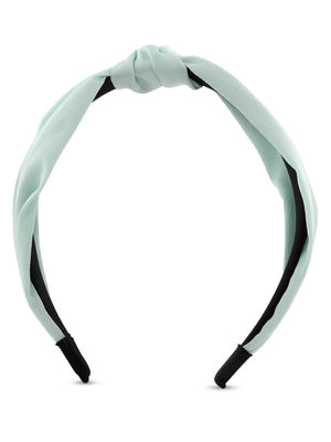 ToniQ Mint Green Top Knot Hair Band