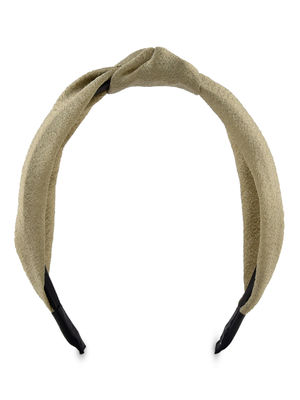 ToniQ Golden Girl Gold Top Knot Hair Band