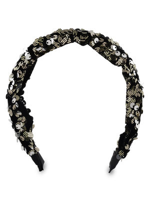 ToniQ Party Starter Black Sequin HairBand