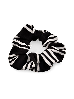 Toniq Set Of 3 Black and White Hair Scruchie For Women