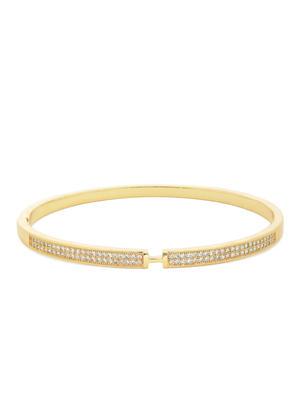Gold-Toned Cuff Bracelet