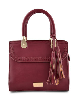 Toniq Trendy Maroon Hand Bag For Women