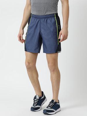 Rock.it Blue Solid Shorts