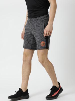 Rock.it Grey Solid Shorts