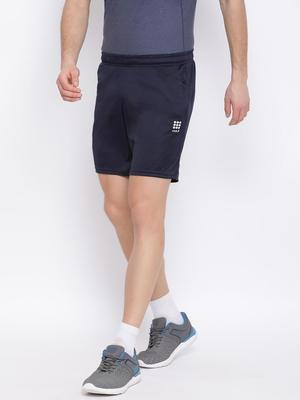 Navy Plain  Shorts