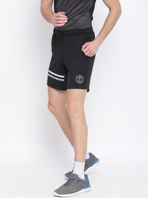 Black Plain  Shorts