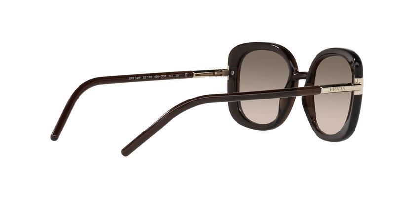 Brown Gradient Grey Sunglasses