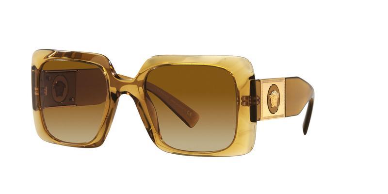 Light Yellow Gradient Ochre Sunglasses