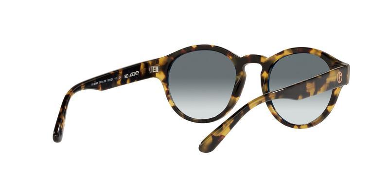 Light Blue Gradient Grey Sunglasses