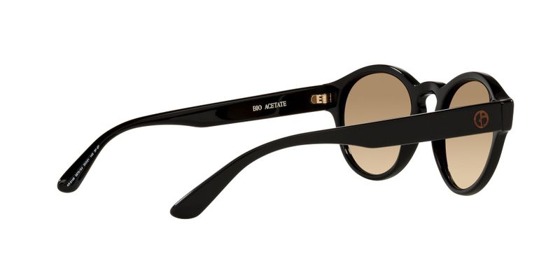 Clear Gradient Brown Photo Sunglasses