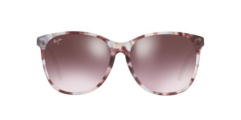 Pink Mirror Polarized Sunglasses