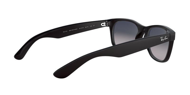Polarized Blue Gradient Grey Sunglasses