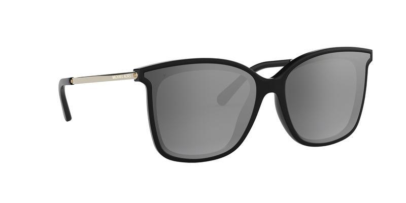 Grey Gradient Mirror Polarized Sunglasses