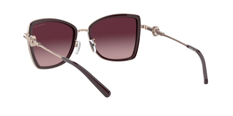 Burgundy Gradient Sunglasses