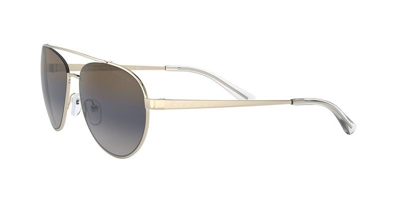 Blue Gradient Mirror Sunglasses