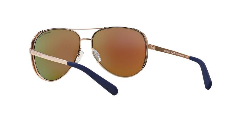 Blue Mirror Sunglasses