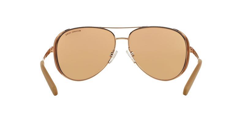 Rose Gold Flash Sunglasses