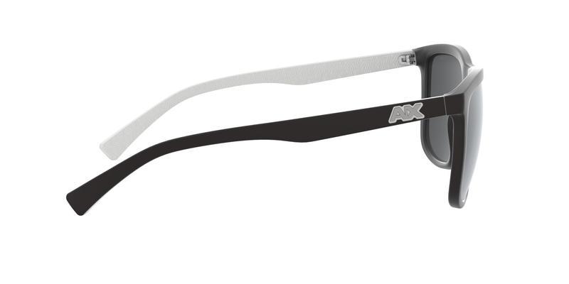 Polar Dark Grey Mirror Silver Sunglasses