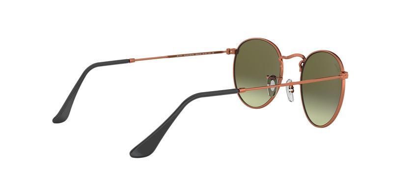 Green Gradient Brown Sunglasses