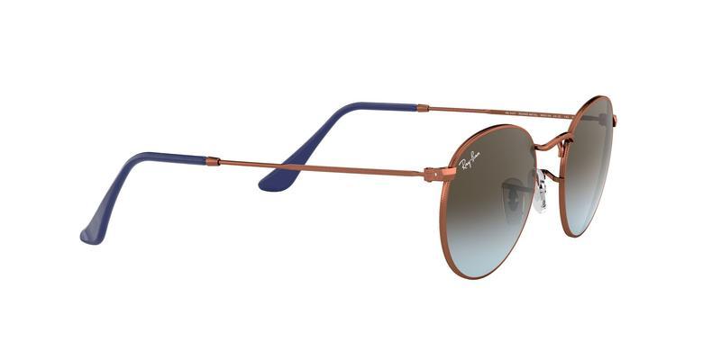 Blue Gradient Brown Sunglasses
