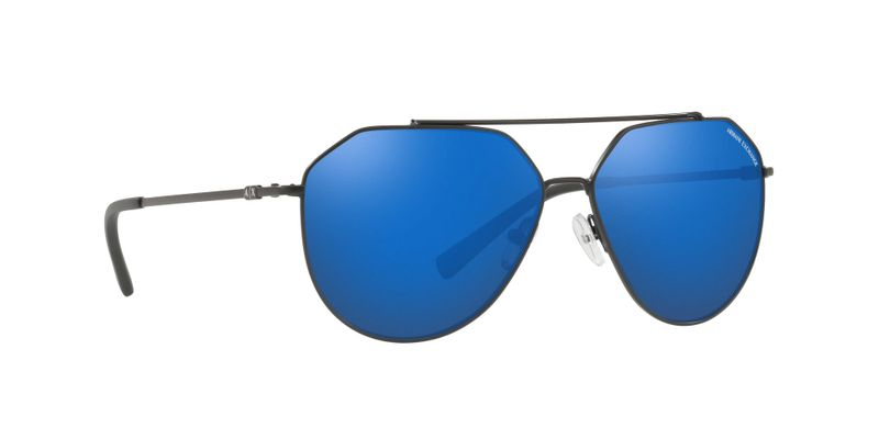 Blue Mirror Blue Sunglasses