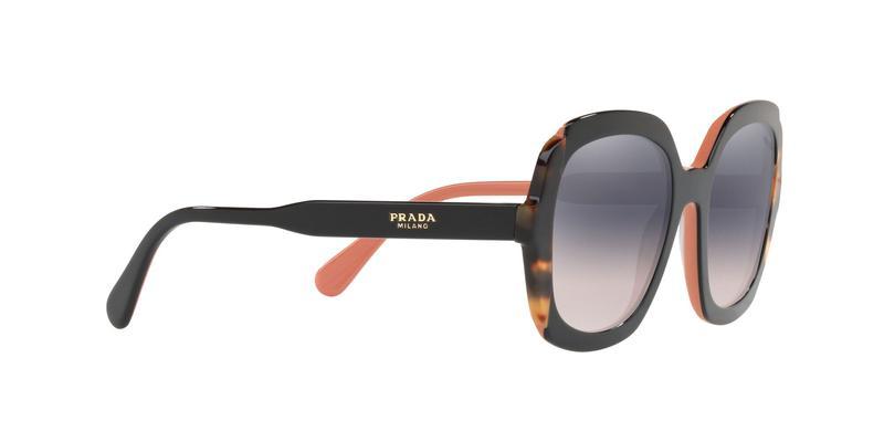Pink Gradient Violet Mirror Silver Sunglasses