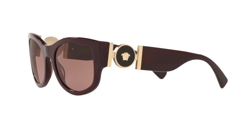 Violet Gradient Brown Sunglasses