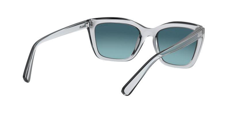 Lilac Gradient Grey Sunglasses