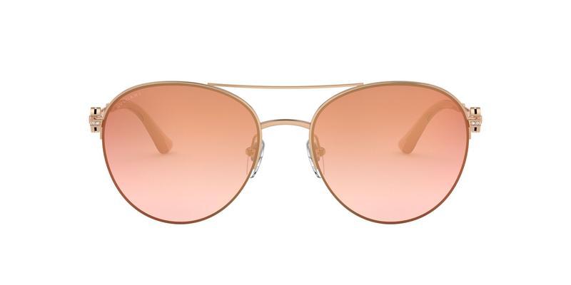 Gradeint Pink Mirror Pink Sunglasses