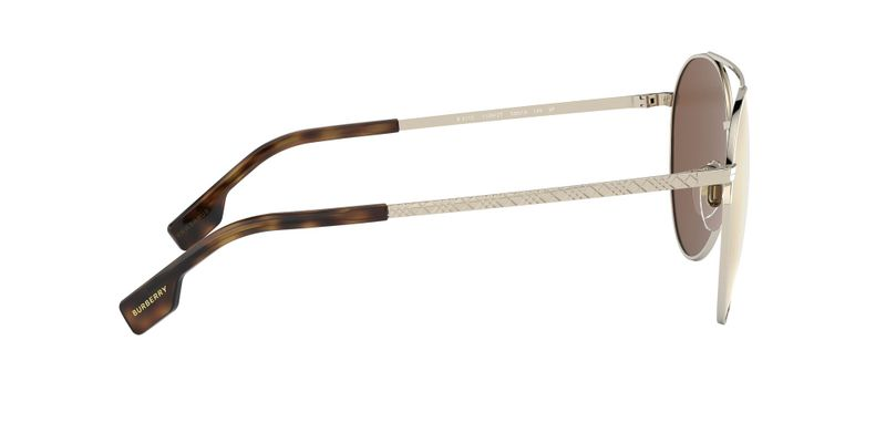 Polarized Brown Mirror Gold Sunglasses