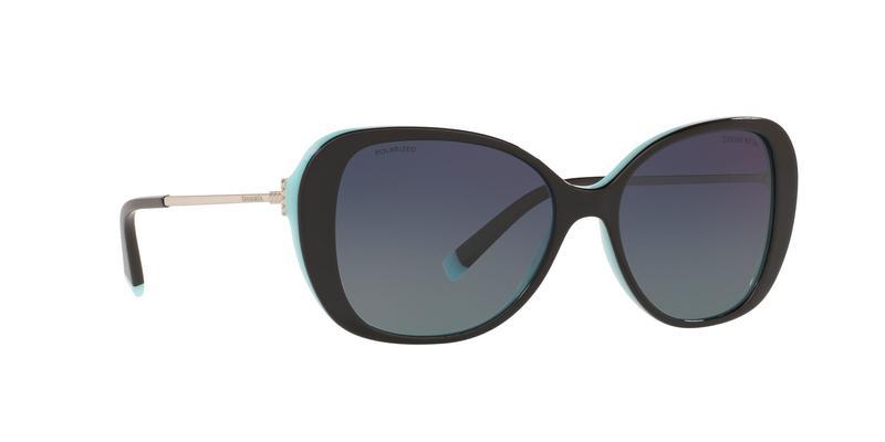 Polarized Azure Gradient Blue Sunglasses