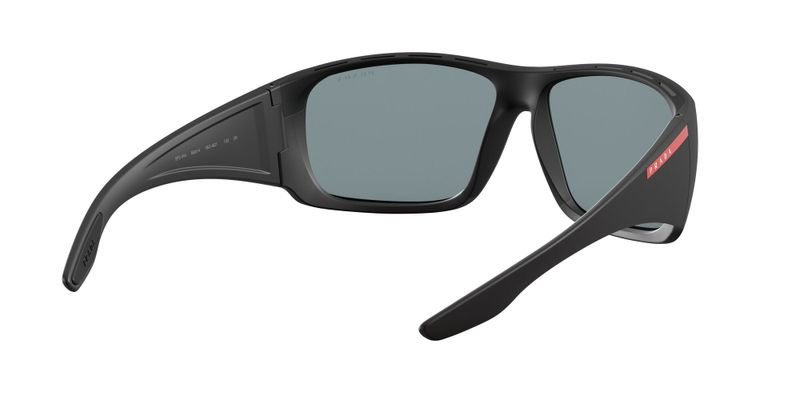 Dark Grey Mirror Blue Red Sunglasses