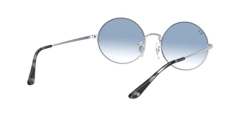 Clear Gradient Blue Sunglasses